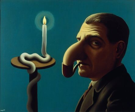 René Magritte, 'La Lampe philosophique', 1936