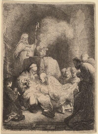 Rembrandt van Rijn, 'The Circumcision: Small Plate', ca. 1630