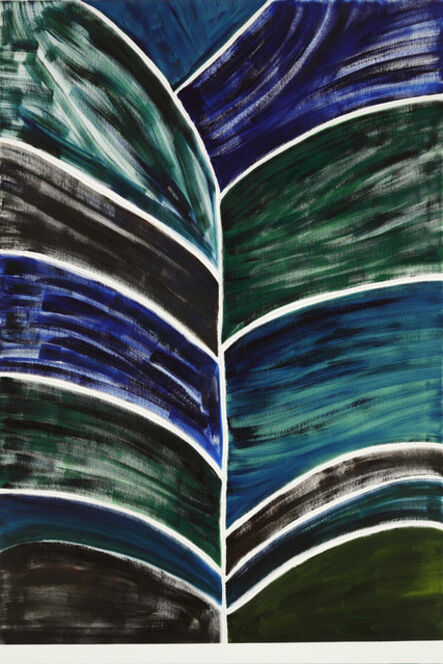 Benjamin Butler, 'Dark Tree (Blue, Green, Brown)', 2010