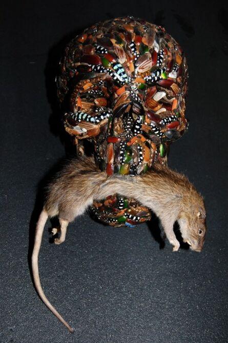Jan Fabre, 'Memento Mori (With Rat)', 2006