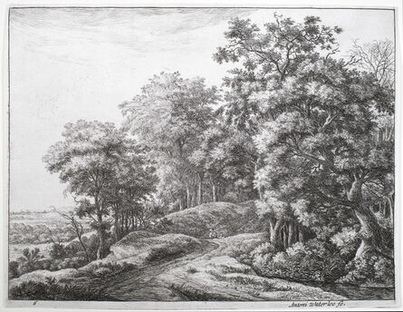 Anthonie Waterloo, 'The Great Landscapes VI (2nd state)', ca. 1650