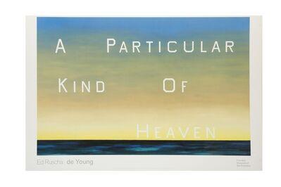 Ed Ruscha, 'A Particular Kind of Heaven'