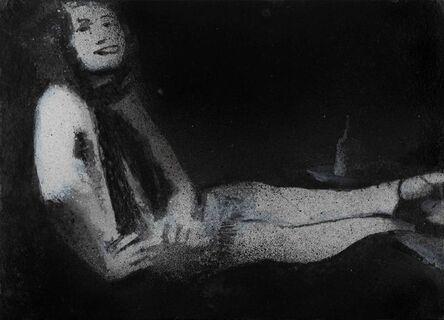 Jonathan Huxley, 'Woman at a table', 2020