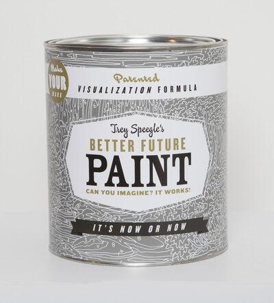 Trey Speegle, 'Better Future Paint (grey)', 2013