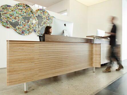 DMG Design SF, 'Reception Desk/Next-World Capital', 2013