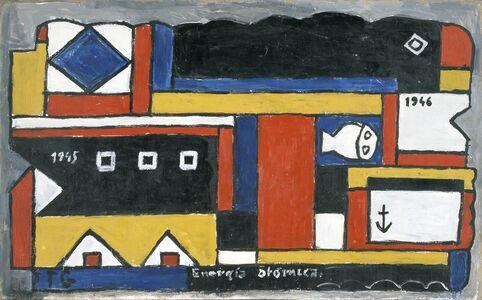 Joaquín Torres-García, 'Energía atómica (Atomic energy)', 1946