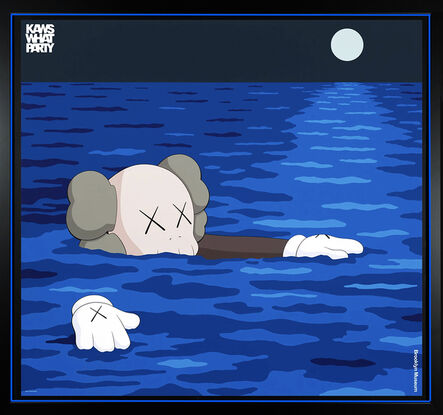 KAWS, ''What Party: Tide' (framed)', 2021
