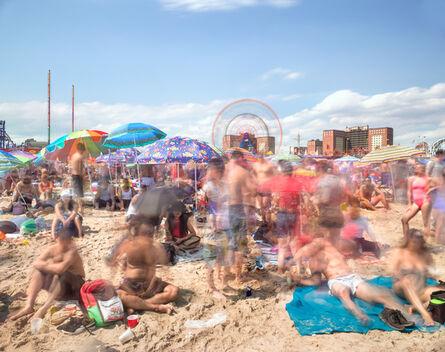 Matthew Pillsbury, 'Coney Island, July 4th, 2017 (TV17064)', 2017