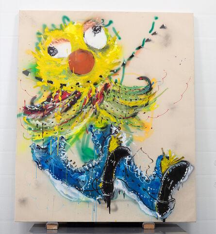 Nic Mathis, 'Untitled (yellow figure)', 2019