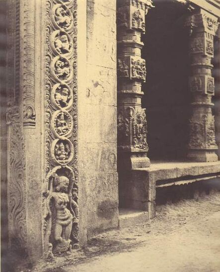 Linnaeus Tripe, 'Madura, Portico Roya Gopuram, India', 1858