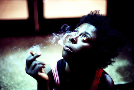 Khalik Allah, 'Sapphire smoking', 2013