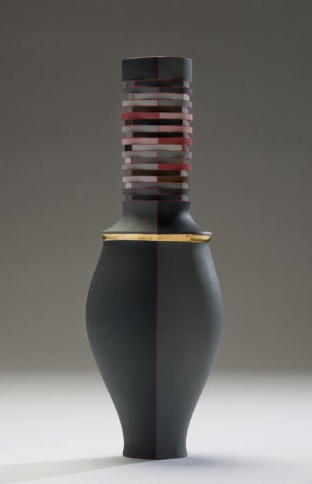 Peter Pincus, 'Red Vase', 2016