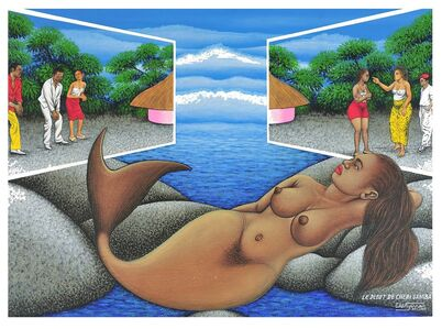 Chéri Samba, 'Le début de Chéri Samba', 2003