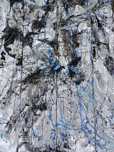 Miya Ozaki, 'Blue Love - Poncho C (Plane)', 2021