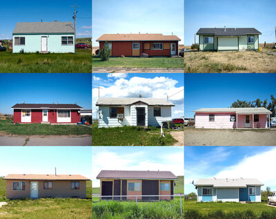 Wendy Red Star, 'HUD Housing (My Home is Where My Tipi Sits)', 2011