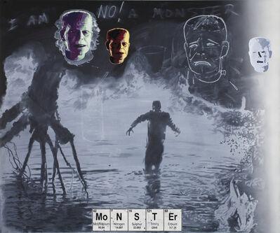 Vernon Fisher, 'Monster Study', 2015
