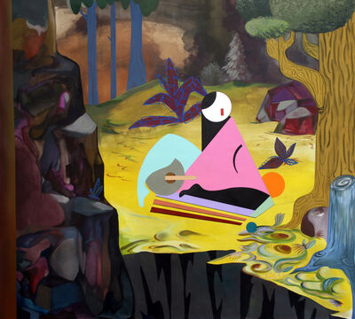 Adriana Minoliti, 'De la serie Playground No. 2', 2015