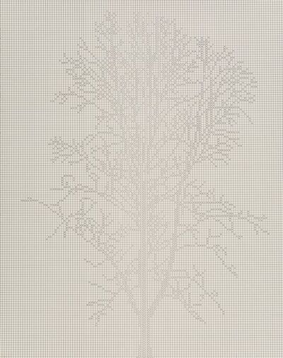 Charles Gaines, 'Numbers and Trees: Project 1 Edition', 2016