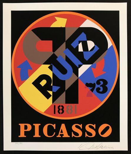 Robert Indiana, 'Picasso', 1998