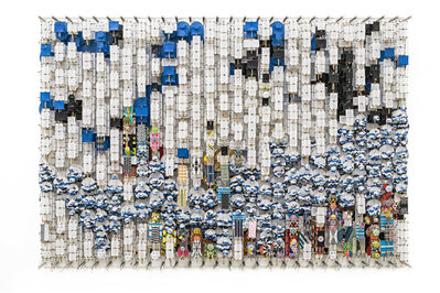 Jacob Hashimoto, 'On the Material Aspect of Dislocation, Magic and Possibility itself', 2019