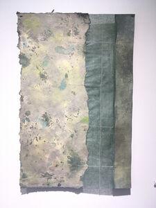 Grace Bakst Wapner, 'Green 3 Sectioned Panel', 2019