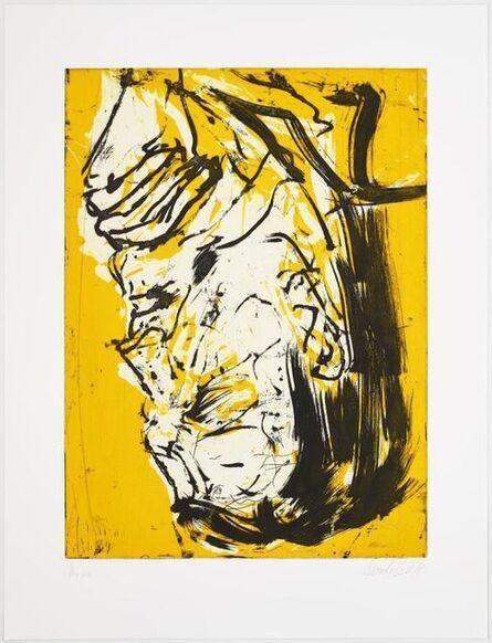 Georg Baselitz, 'Elke VI', 2017