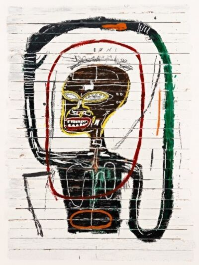 Jean-Michel Basquiat, 'Flexible', 1984-2016