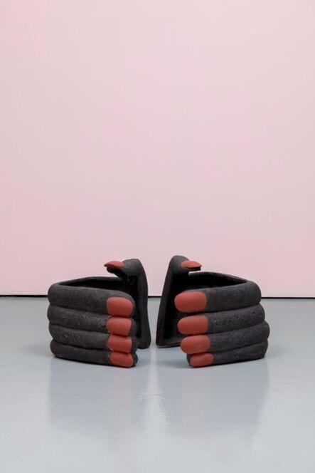 Elsa Sahal, 'Mains aux ongles rouges', 2020