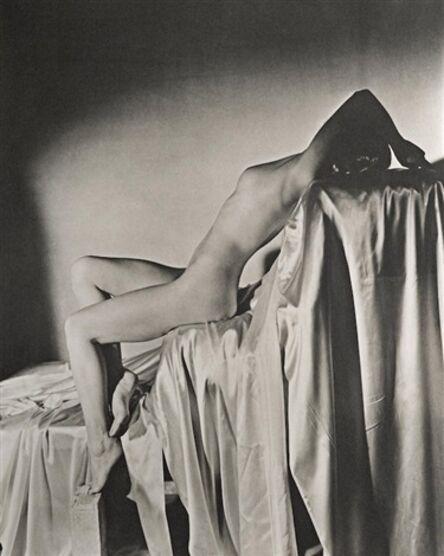 Horst P. Horst, 'Lisa on Silk, New York', 1940