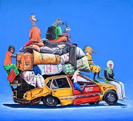 Abdias Ngateu, 'Taxi-Brousse II ', 2020
