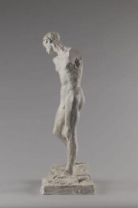 Auguste Rodin, 'Pierre de Wissant, nu pour la deuxième maquette (Pierre de Wissant, nude for second model)', 1885