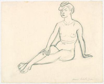 Henri Matisse, 'Seated Nude', 1907-08