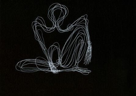 Tatiana Grinberg, 'distância recoberta_ensaio_partitura_dr_corte_c [e]', 2014