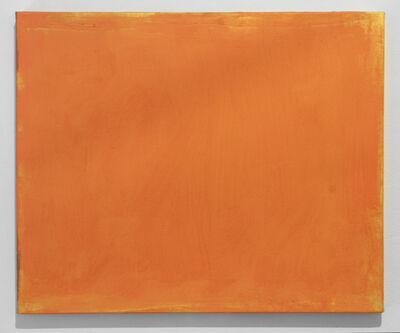 Sérgio Sister, 'Laranja sobre dourado (Orange over gold)', 2015