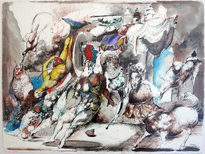 """Emil Kazaz, '""""Wedding of Fish"""" / """"Balığın Düğünü""""', 1997"""
