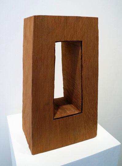 David Nash, 'Cut Corners Frame', 2015