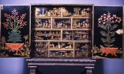 'Cabinet with Chinese and American Motifs', 1690-1700
