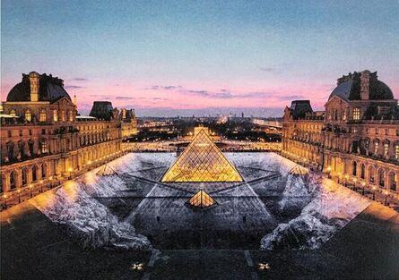 JR, 'JR au Louvre, 29 Mars 2019, Paris, France (19h45)', 2021