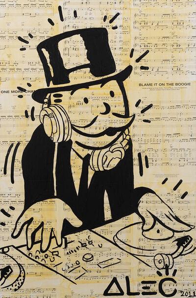 Alec Monopoly, 'DJ Monopoly', 2011