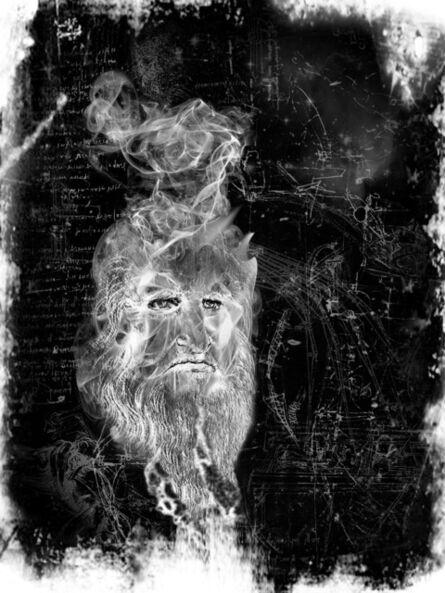 Jeffrey Vallance, 'Spirit Photo: Leonardo da Vinci', 2012-2015