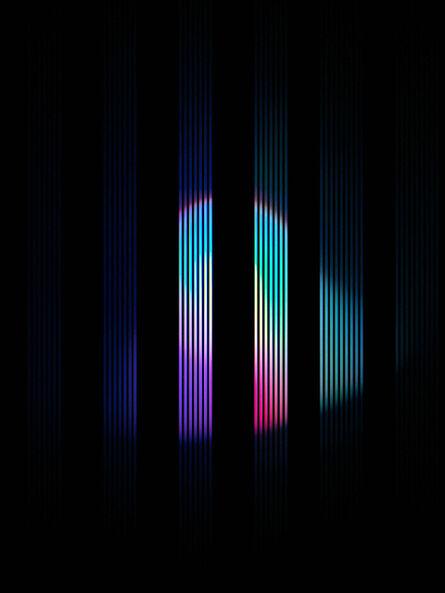 Hideo Anze, 'Stripe(50Hz) 2015/05/16 13:19:55 aoba-ku', 2014-2020