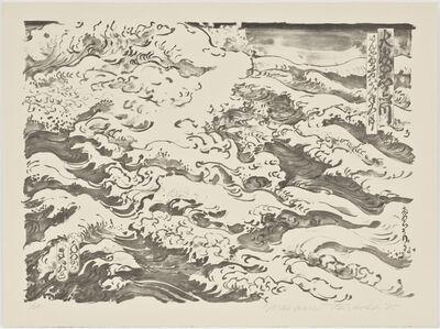 Masami Teraoka, 'Study for Waves #2', 1985