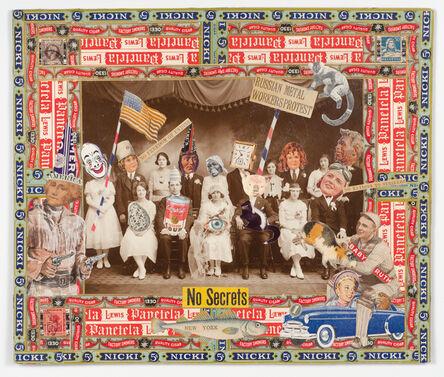 Felipe Jesus Consalvos, 'No Secrets', 1920-1950