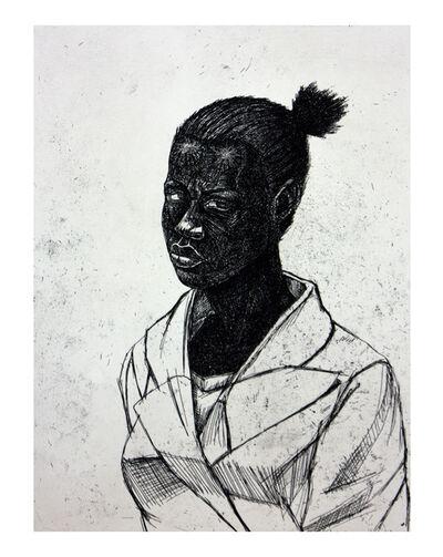 Kerry James Marshall, 'UNITLED (WOMAN)', 2010