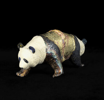 Masatake Kozaki, 'SYAMUPANDA (Siamese Panda)', 2020