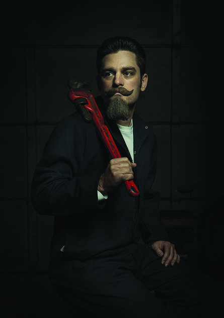 Freddy Fabris, 'The Red Wrench - Portrait II - Renaissance Series', 2015