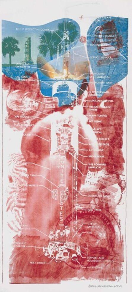 Robert Rauschenberg, 'Sky Garden (Stoned Moon)', 1969