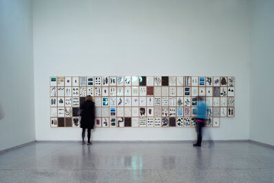 herman de vries, 'from the language of venice - a journal (Installation view)', 2015