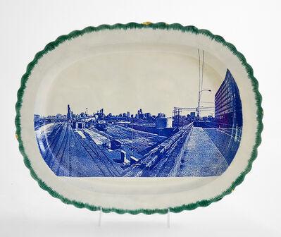 Paul Scott, 'Cumbrian Blue(s), New American Scenery, Chicago, (W. 18th St.)', 2019