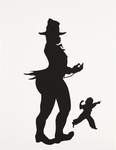 Kara Walker, 'Pocketwatch, scene No. 5 from The Emancipation Approximation', 1999-2000